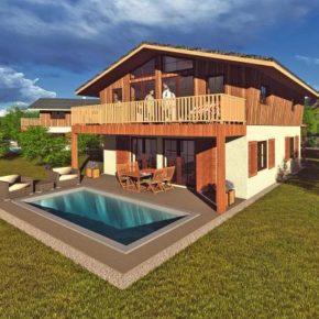 Natur pur in den Chiemgauer Alpen: 8 Tage im neueröffneten Chalet mit Pool & Sauna um 190€ p.P.