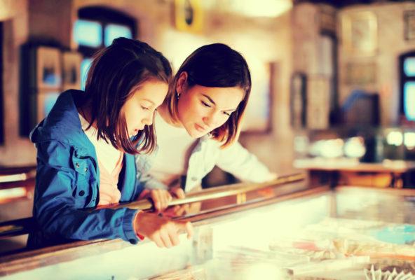 Museum Mutter Tochter