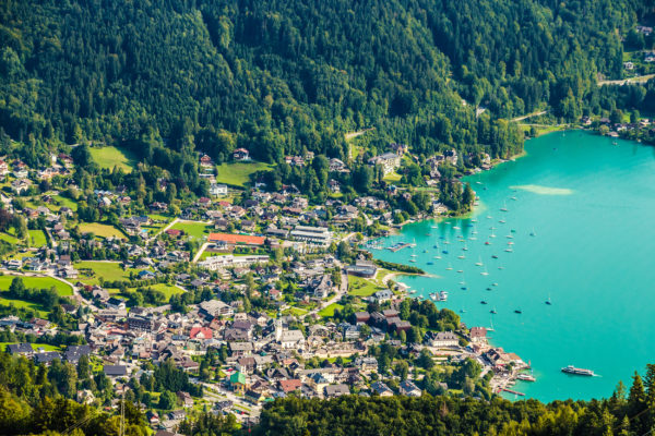 Österreich Salzburg Wolfgangsee