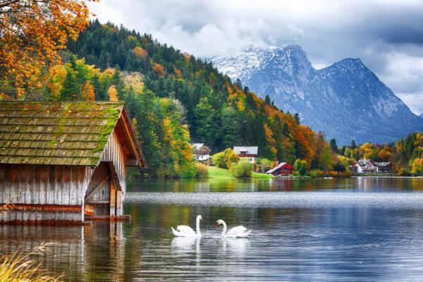 Österreich Steiermark Grundlsee