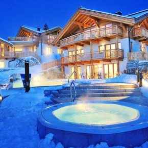Leutaschklamm in Tirol: 3 Tage im guten 4* Hotel mit Halbpension & Wellness ab 179€