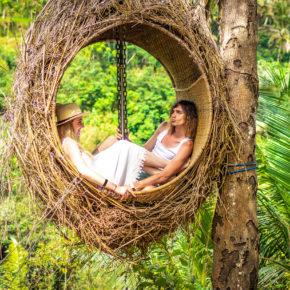 Bali Pärchen im Dschungel