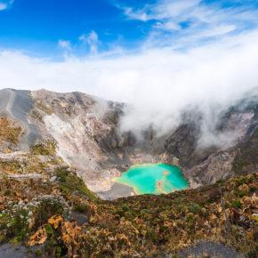 Costa Rica Irazu Vulkan