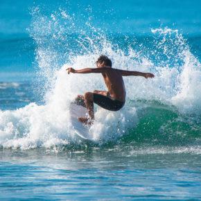 Costa Rica Surfen Welle