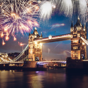 Silvester in London: 3 Tage mit zentraler Unterkunft & Flug nur 160€