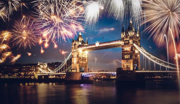 England London Silvester