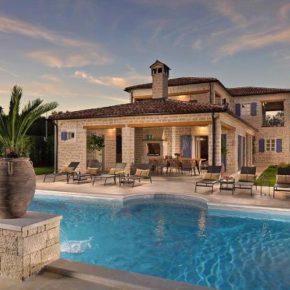Luxus in Kroatien: 8 Tage im stilvollen Ferienhaus in Istrien mit Pool für 224 € p.P.