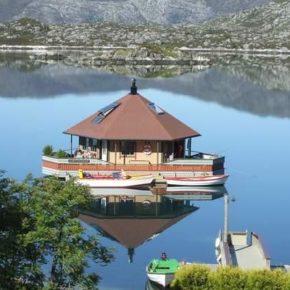 Urlaub in Norwegen: 8 Tage im eigenen Wasserhaus mit Rundum-Seeblick ab 162€ p.P.