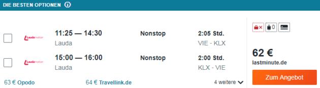 Flug Wien Kalamata