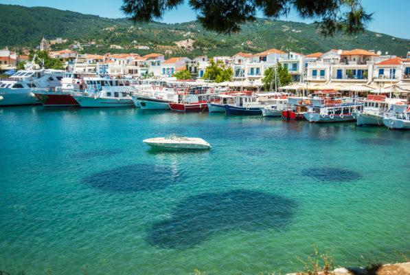 Griechenland Skiathos Yachten