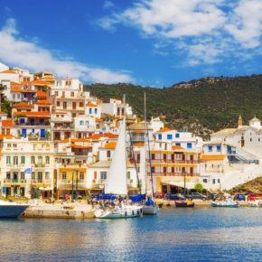 Skopelos in Griechenland: Tipps für die Mamma Mia Insel