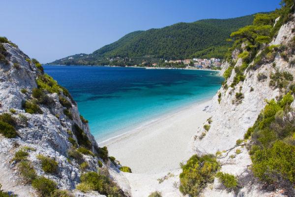 Griechenland Skopelos Hovolo Strand