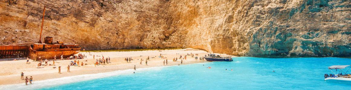 Auszeit am Ionischen Meer: 7 Tage Zakynthos mit 3* Hotel, Halbpension & Direktflug um 287€