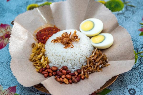 Indonesien Essen Nasi Lemak