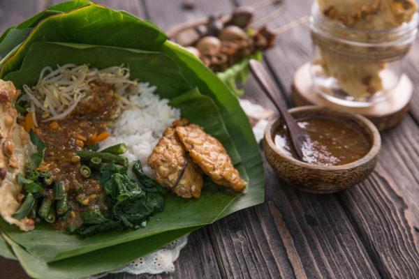 Indonesien Essen Nasi Pecel