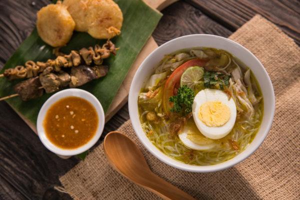 Indonesien Essen Soto Ayam