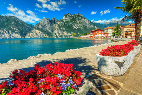Italien Gardasee Gebirge