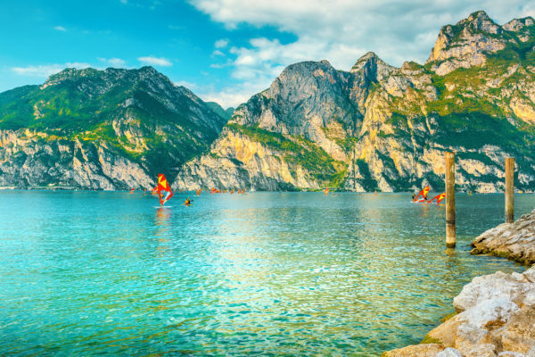 Italien Gardasee Riva del Garda