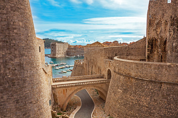 Kroatien Dubrovnik Altstadt