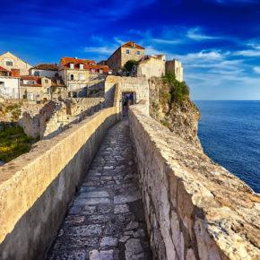 Auf den Spuren von Game of Thrones: 4 Tage Dubrovnik am WE inkl. Hotel mit Meerblick & Flug für 89€