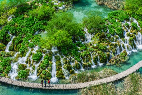 Kroatien Plitvice Oben