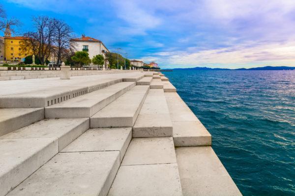 Kroatien Zadar Meeresorgel