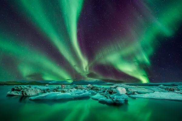 Norwegen Lofoten Nordlichter