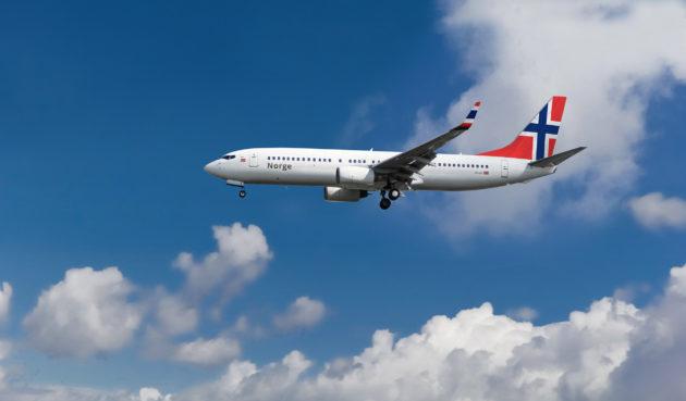 Norwegian Air Flugzeug