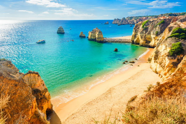 Portugal Algarve Lagos Ponta Piedale