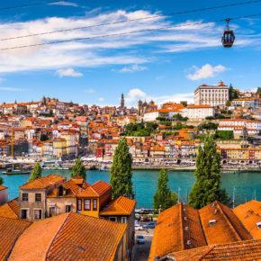 Kurztrip nach Porto: 4 Tage Portugal mit zentraler Unterkunft & Flug für 66€