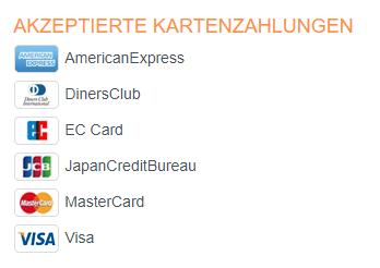 Hotel.de Kartenzahlung