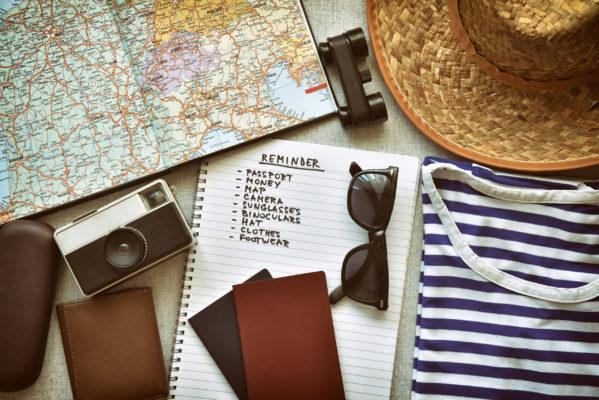 Reisen Checkliste