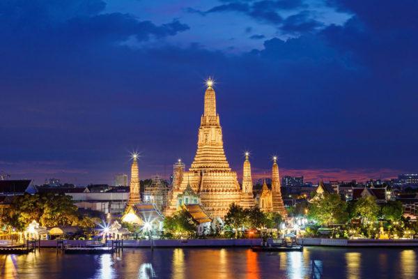 Thailand Bangkok Wat Arun Tempel
