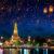 Thailand Bangkok Wat Arun Tempel Nacht