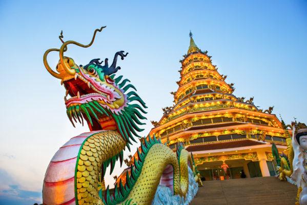 Thailand Chiang Rai Tipps Wat Huai Pla Kang