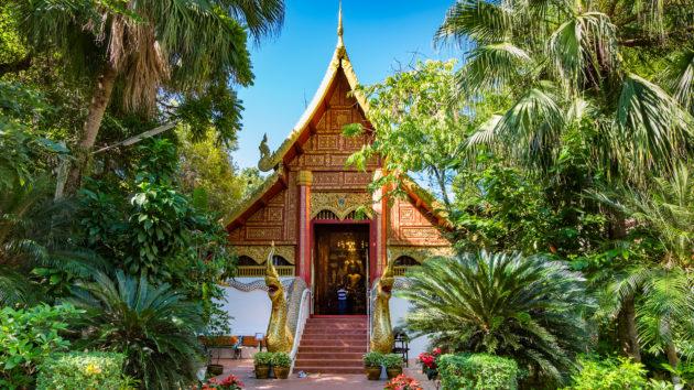 Thailand Chiang Rai Wat Phra Kaew