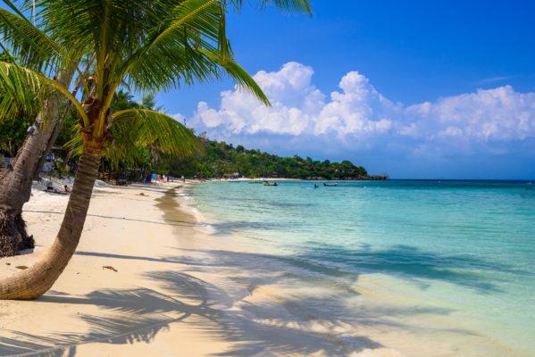 Thailand Koh Phangan Haad Yao Beach