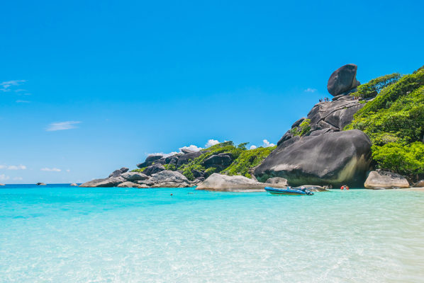 Thailand Phuket Similan Rock Island
