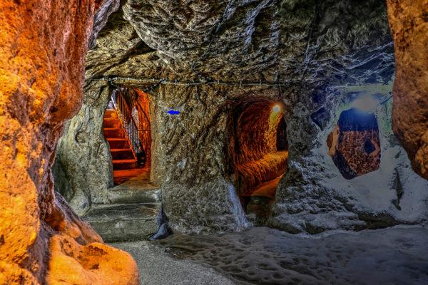 Türkei Derinkuyu Höhlenstadt