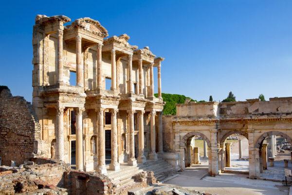 Türkei Ephesus Bibliothek