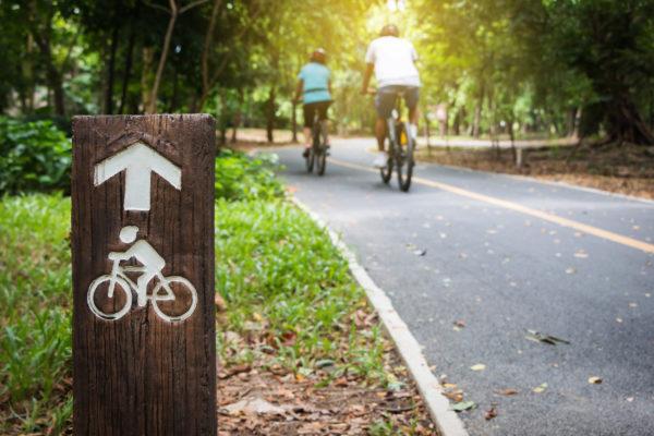 Fahrradtour Radweg Fahrrad