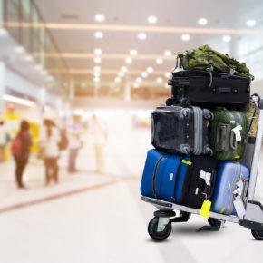 Reisegepäck Trolley Flughafen