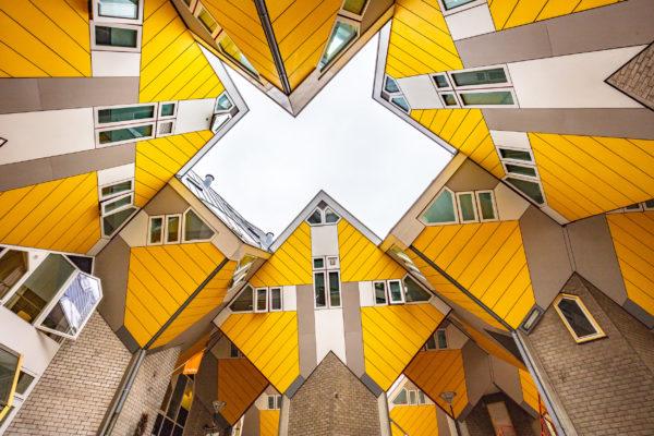Niederlande Rotterdam Kubushäuser