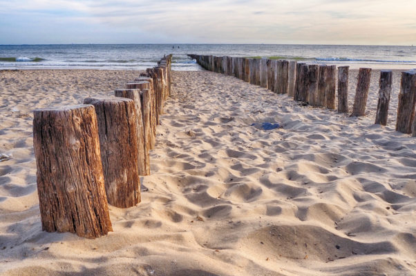 Niederlande Zoutelande Strand