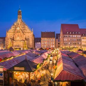 Winterzeit in Nürnberg: 2 Tage im TOP 4* Hotel in Nürnberg mit Frühstück & Thermen-Eintritt um 79€