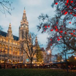 Weihnachtsmarkt-Wochenende: 3 Tage Wien in zentralem Hotel nur 42€