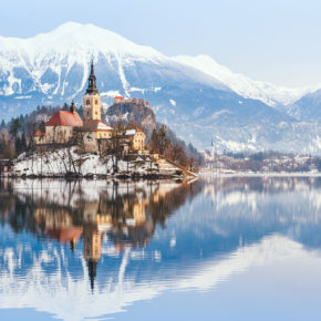 Winter-Wochenende in Slowenien: 2 Tage in Bled mit TOP 3* Hotel um 25€