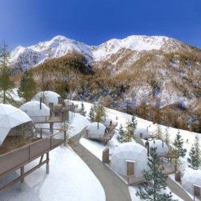 Winter 2021: 4 Tage 5* Glamping in den französischen Alpen inkl. Frühstück & Skipass ab 289€ p.P.