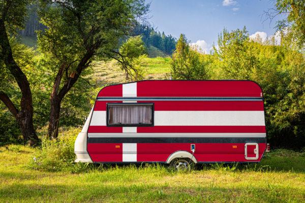 Dänemark Camping Wohnwagen