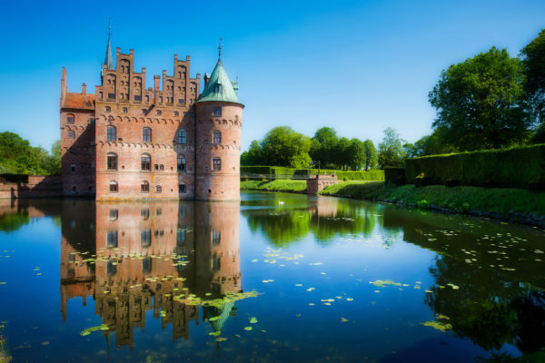Dänemark Fünen Egeskos Schloss